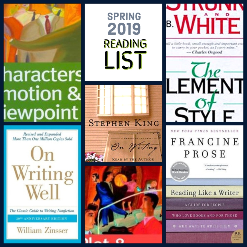 Spring 2019 Reading List