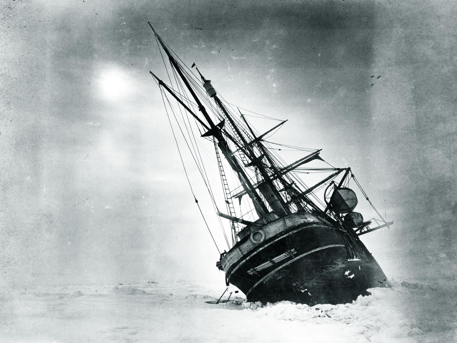 shackletons lost ship endurance - HD1600×1200
